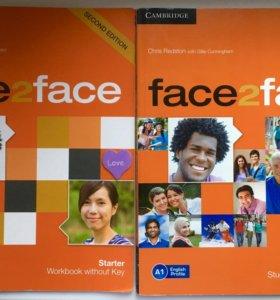 Face2face Starter Second Edit Student's + WorkBook