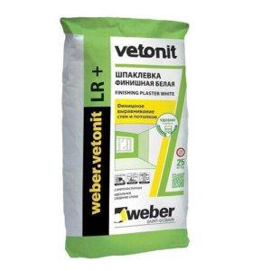 Шпаклевка WEBER VETONIT LR+, 25 кг