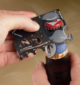 Ножи кредитки,многофункциональная открывашка