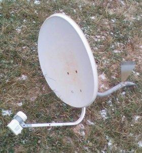 Спутниковая тарелка, триколор