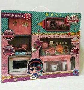Набор Кукла LOL Кухня с плитой