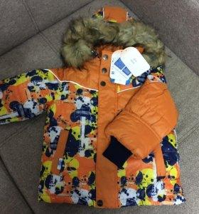Новая зимняя куртка Oldos 4-5 лет