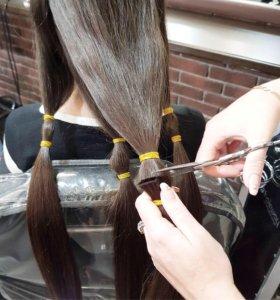 Срезаю волосы