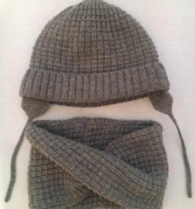 Снуд и шапка Zara