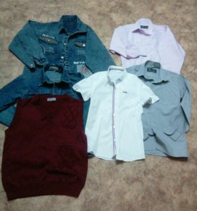 Лот рубашек