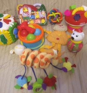 Развивающие игрушки для малышей (0-2 лет) сортер