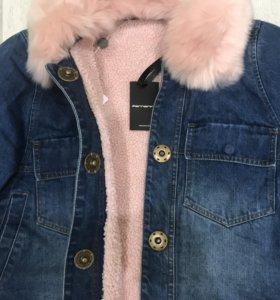 Куртка джинсовая оригинал новая Fornarina