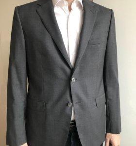 Новый шерстяной пиджак Massimo dutti