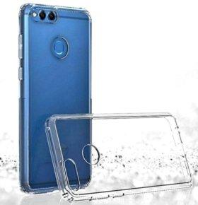 Чехол силикон прозрачный Huawei Honor