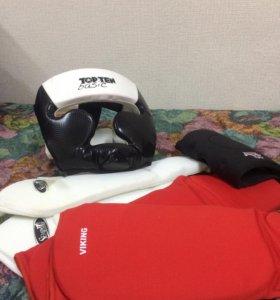 Шлем, бокс, щиток