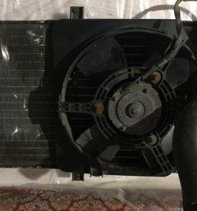 Радиатор на ВАЗ в сборе