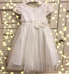 Платье для девочки 80 размер