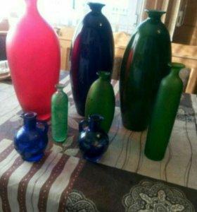 декоративные вазы,времен СССР