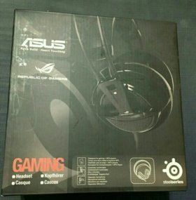 Asus Republic of Gamers SteelSeries - Наушники