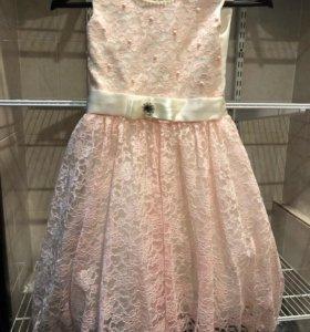 Платье новое 116-128