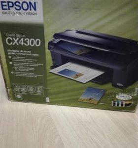 EPSON принтер-сканер