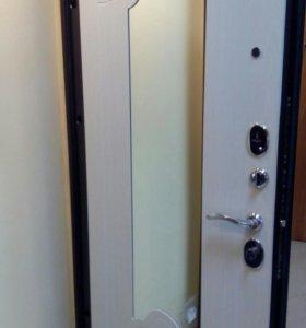 Дверь входная,,Ампир,, с зеркалом