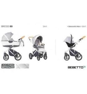 Детская коляска Bebetto bresso 3в1