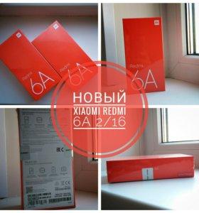 Новый Xiaomi Redmi 6A 2/16 Black