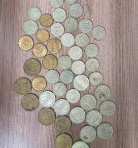 продаю монеты 1961 г. 1988 г. 1992 г. 1993 г.