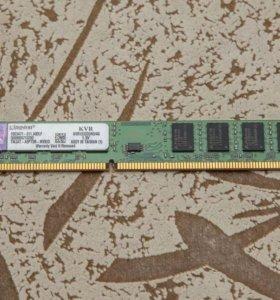 Оперативная память, 8 ГБ, DDR 3, 1333 MHZ.