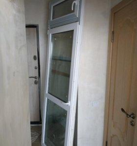 Балконный блок , окно и дверь