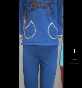 Пижамы утепленная новая