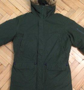 Новая куртка -аляска военная, зима