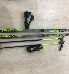 Беговые лыжи детские