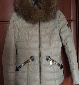 Куртка зимняя тёплая! 46-48р-р!