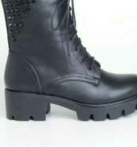 Новые Женские ботинки зимние