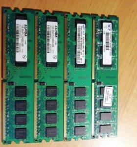 Оперативная память: DIMM DDR2.