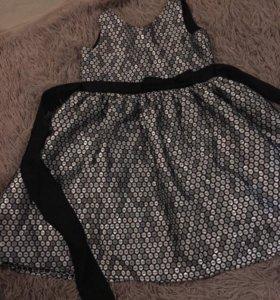 Платье нарядное 128-134