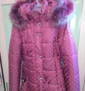 Зимняя новая куртка фирмы berolli
