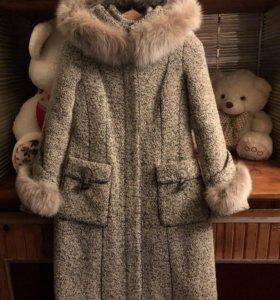Пальто очень тёплое замечательное