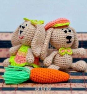 Вязаные игрушки, амигуруми