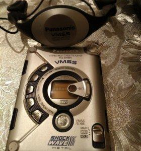 Panasonic stereo radio cassette player rq-sw99v