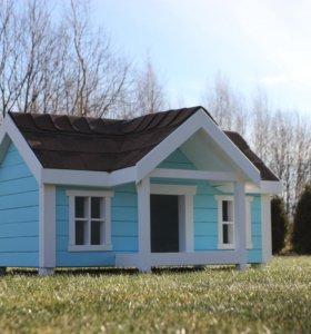 Будка-домик для собаки или кошки