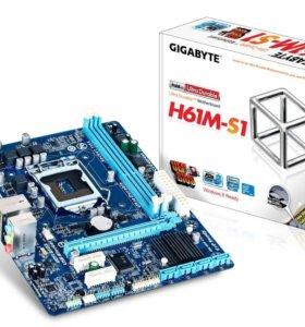 Материнская плата Gigabyte GA-H61M-S1 rev.3.0