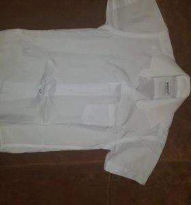 Белые рубашки для мальчика рост 116