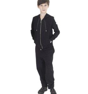 Черный спортивный костюм на мальчика 7 лет