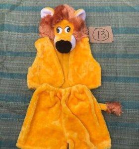 Новогодний костюм тигра.