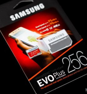 MicroSD 256gb Samsung EVO