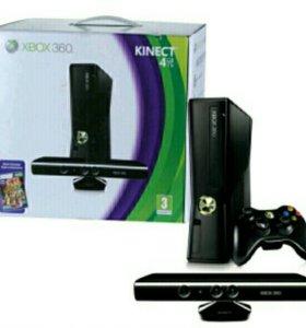 Xbox360,+kinekt ,два джойсика