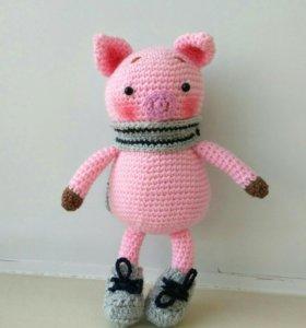 Свинка в ботинках