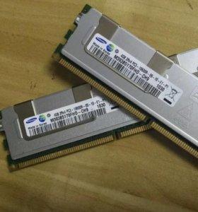 Оперативная серверная память SAMSUNG 4GB DDR3
