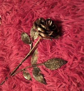 Роза кованная ручной работы