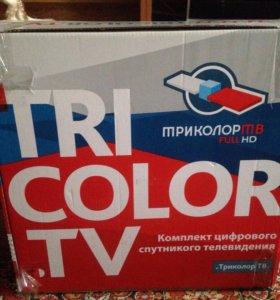 Комплект спутникового телевидения на два телевизор