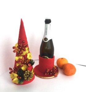 Подарочная упаковка для шампанского