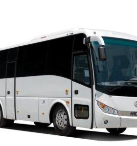Автобус туристический 35 мест higer 6928